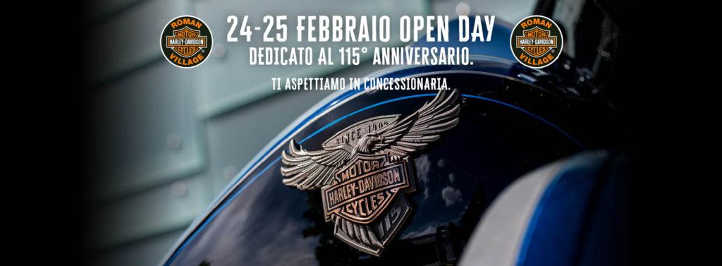 Open Day – 24 / 25 Febbraio 2018