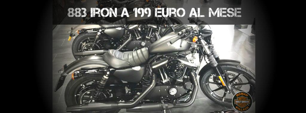 883 IRON A 199 EURO AL MESE