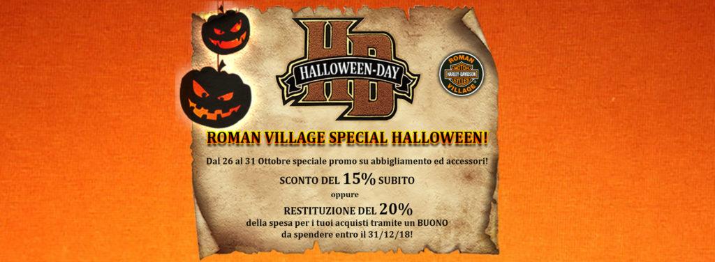 Roman Village Special Halloween
